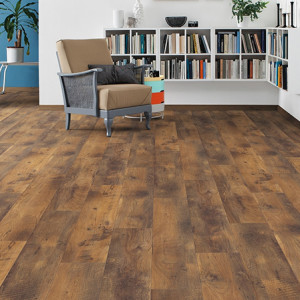 HARO Laminate floor TRITTY 100 Plank 1-Strip 4V Oak Vintage textured matt