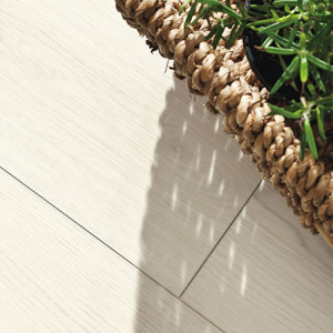 DISANO by HARO Classic Plank 1-Strip XL 4V Oak White textured