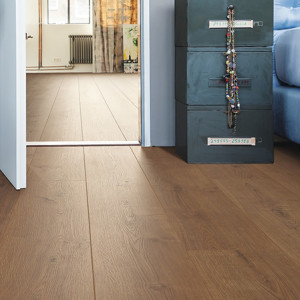 HARO Laminate floor TRITTY 100 Gran Via 4V Oak Portland Amber authentic